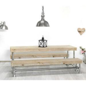 Steigerhouten tafel Speer
