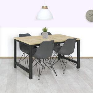Steigerhouten tafel Hedley