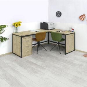 Steigerhouten bureau Rewey