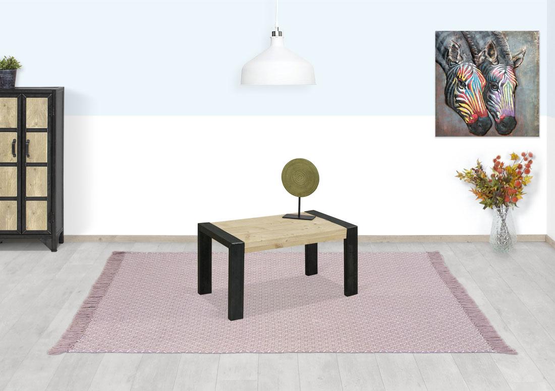 Steigerhouten salontafel Simla
