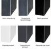 Behandeling metalen frame van industriele meubels
