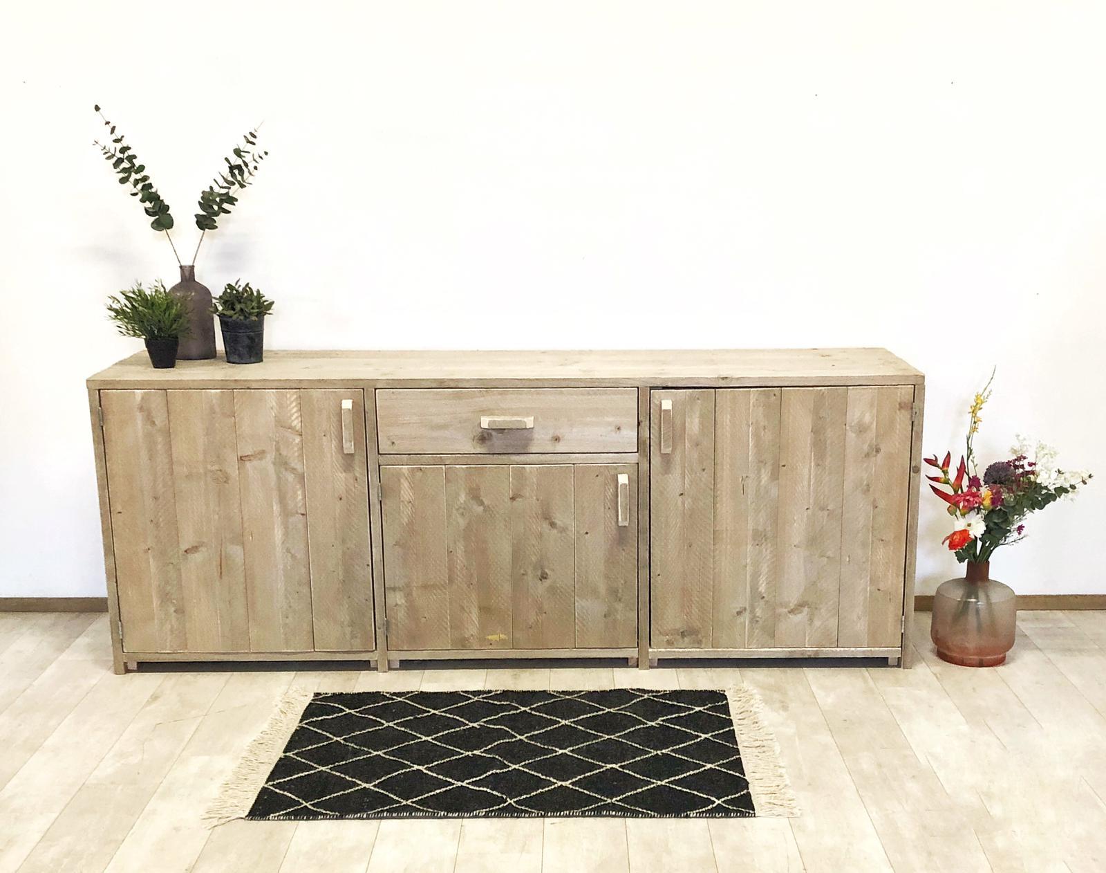 dressoir-steigerhout