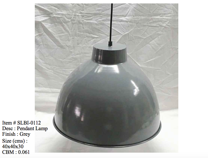Industriele lamp - 0112