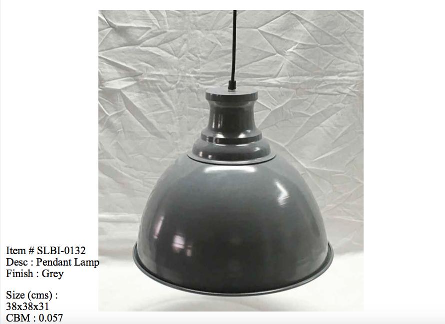 Industriele lamp 0132