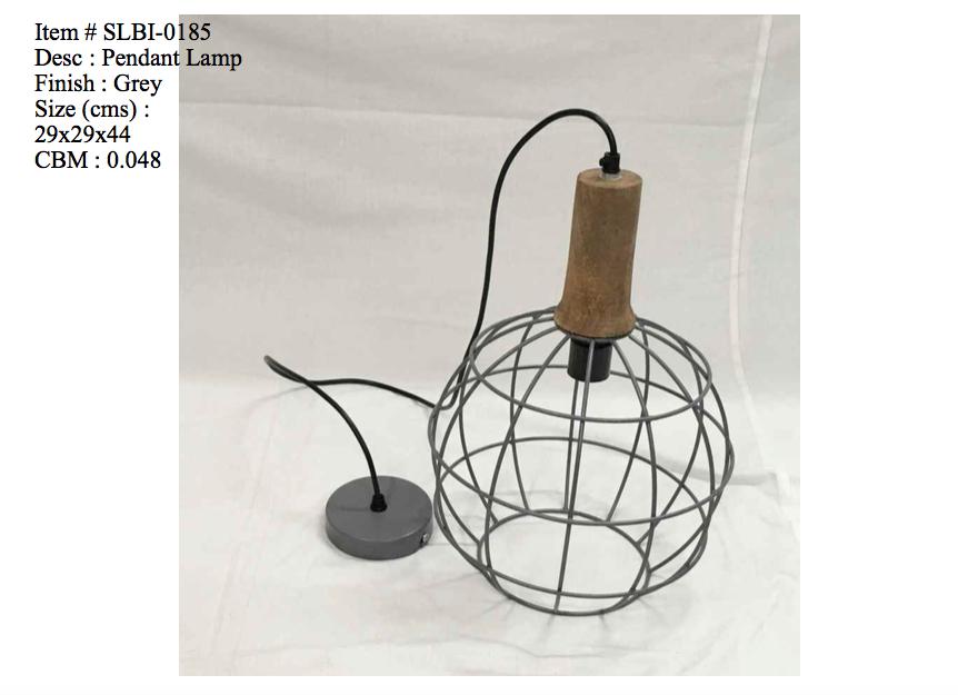 Industriele lamp - 0185
