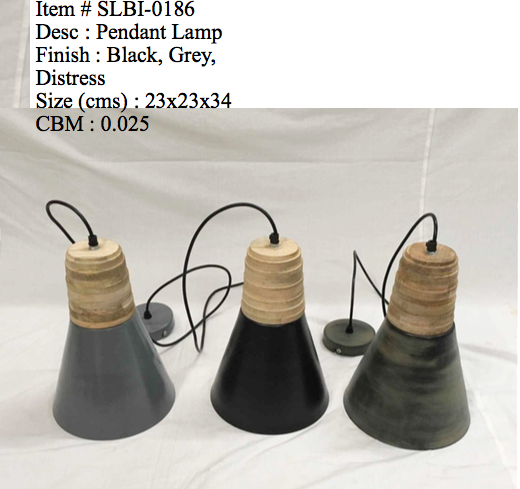 Industriele lamp 0186 - grijs