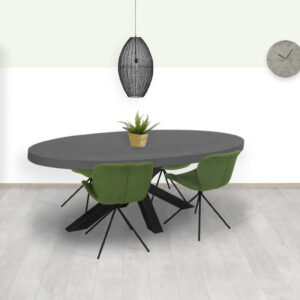 Betonlook eettafel Datil