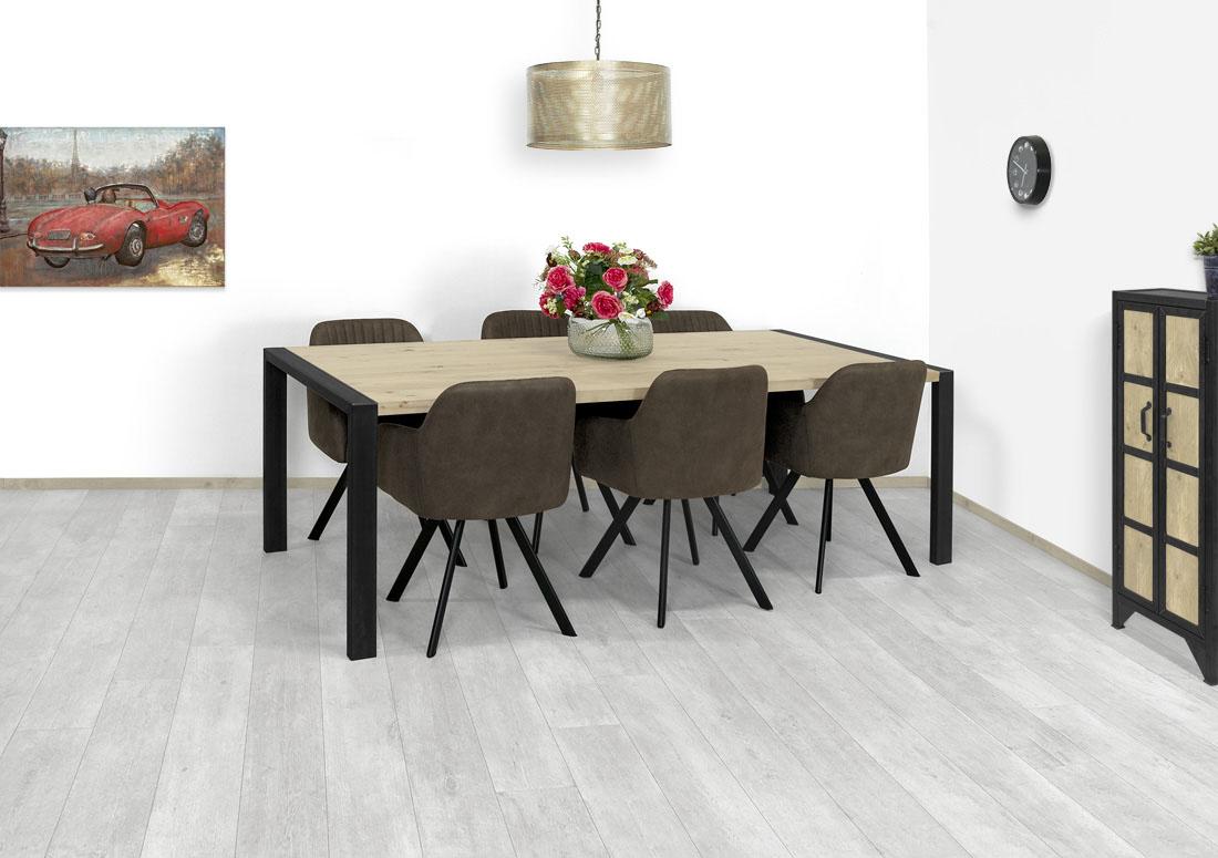 Eikenhouten tafel Odum