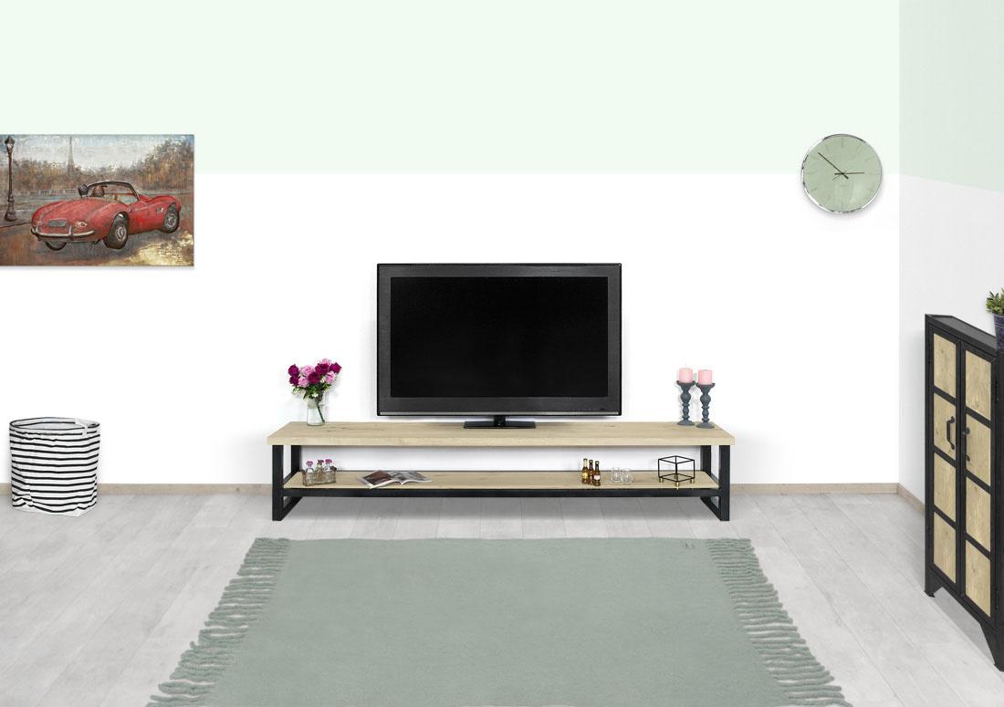 Eikenhouten TV meubel Norge