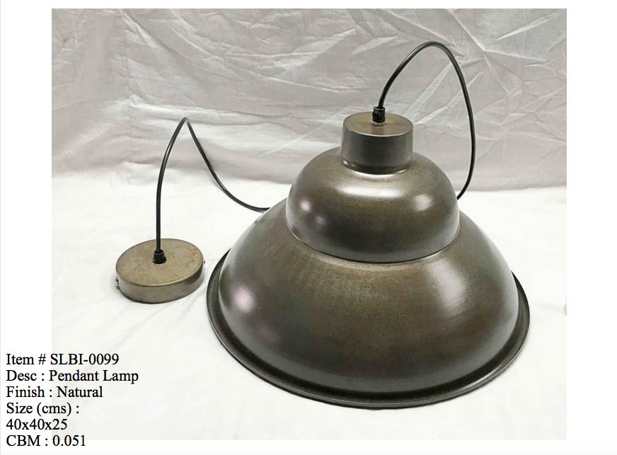 Industriele lamp 0099