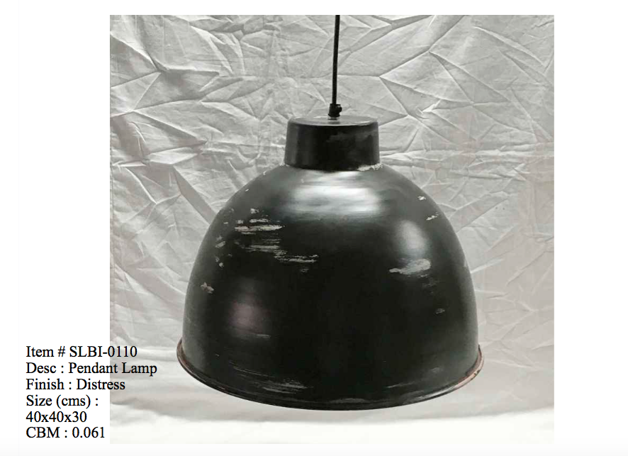 Industriele lamp - 0110