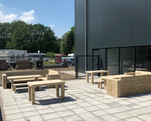 Steigerhouten meubelen bedrijf