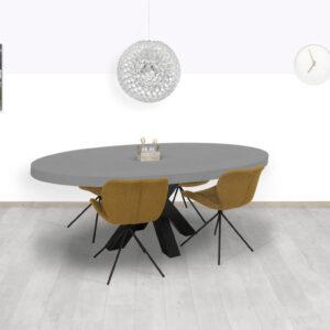 Betonlook tafel Kiron
