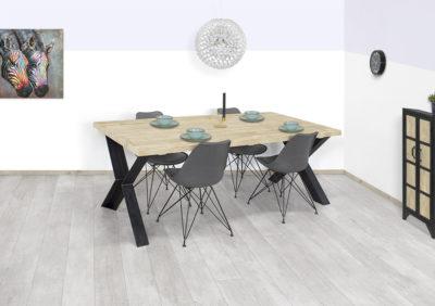 Steigerhouten tafel Delco