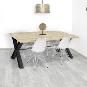 Steigerhouten tafel Oley