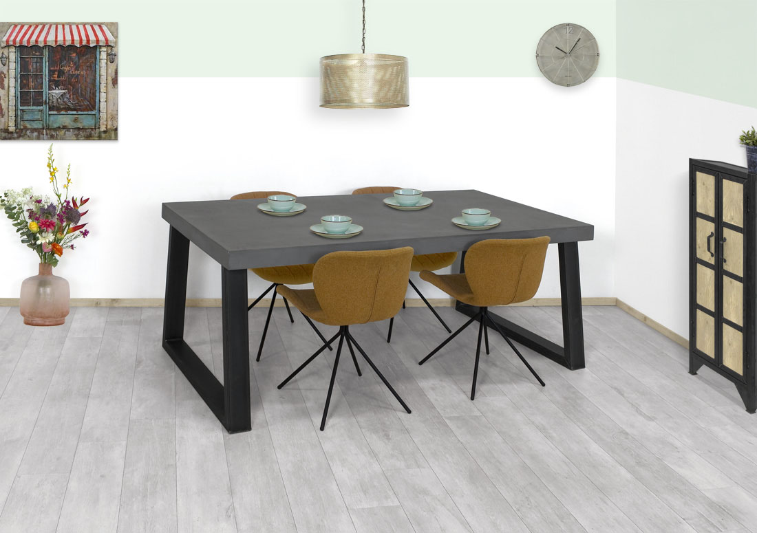 Betonlook tafel Ronco