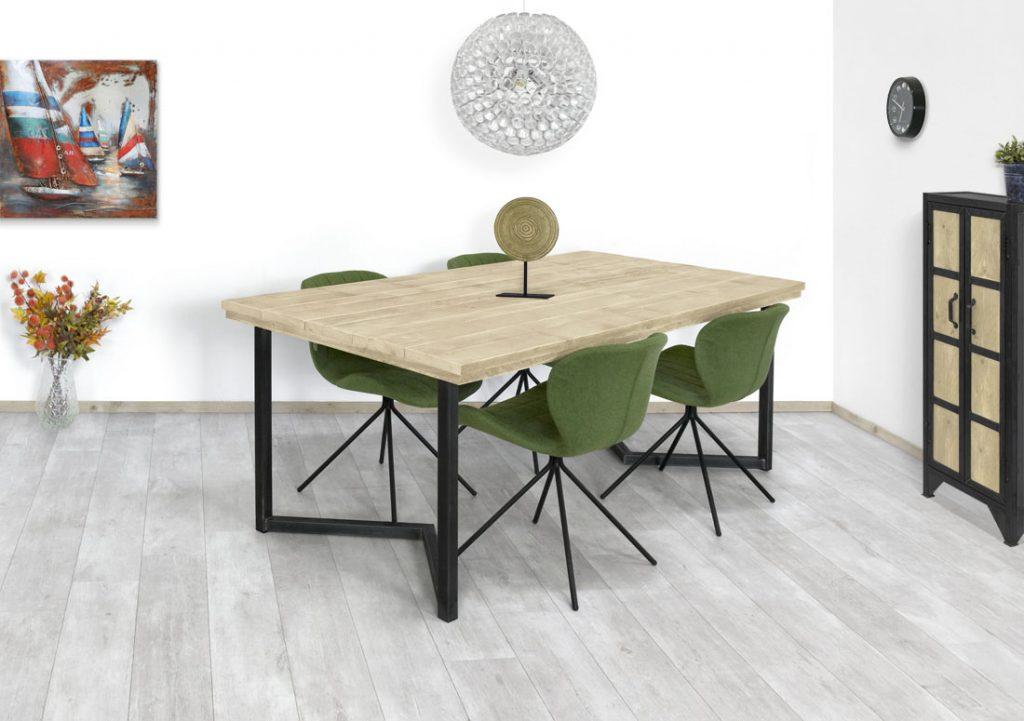 Steigerhouten tafel Sumas