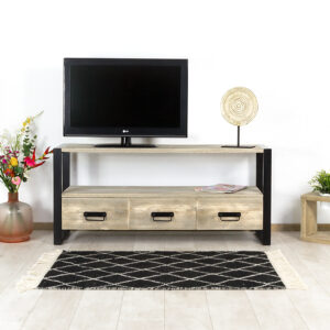 Steigerhouten TV meubel Oran
