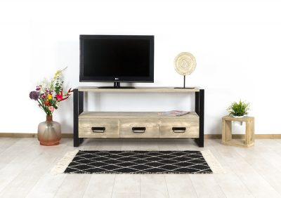 Steigerhouten TV meubel Oran