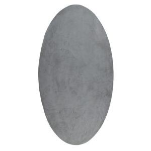 Betonlook tafelblad ovaal