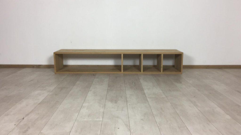 Eikenhouten TV meubel 180 x 41 x 30 (OUTLET)