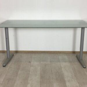 Glazen bureau 160 x 80 x 79 (OUTLET)