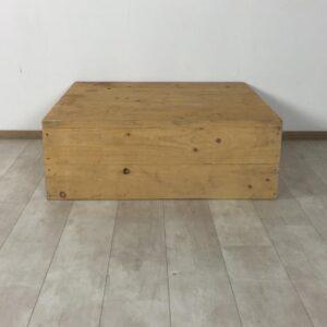 Nieuw steigerhouten salontafel 100 x 100 x 35 (OUTLET)