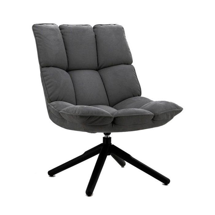 Eleonora fauteuil Daan - antraciet