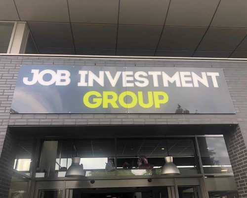Inrichting kantoor Job Investment Group