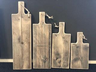 Tapasplank / borrelplank van steigerhout