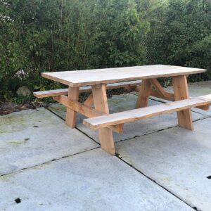 Douglashout picknicktafel Kirk