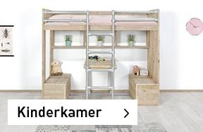 Kinderkamer meubels van steigerhout