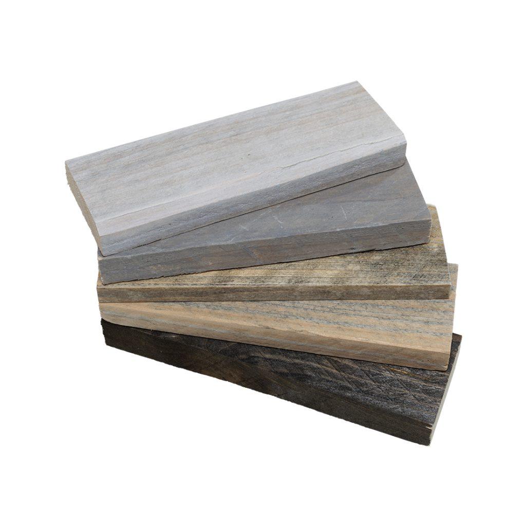 Samples van steigerhout