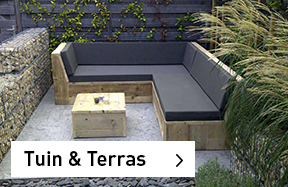 Tuin & Terras Steigerhouten meubelen