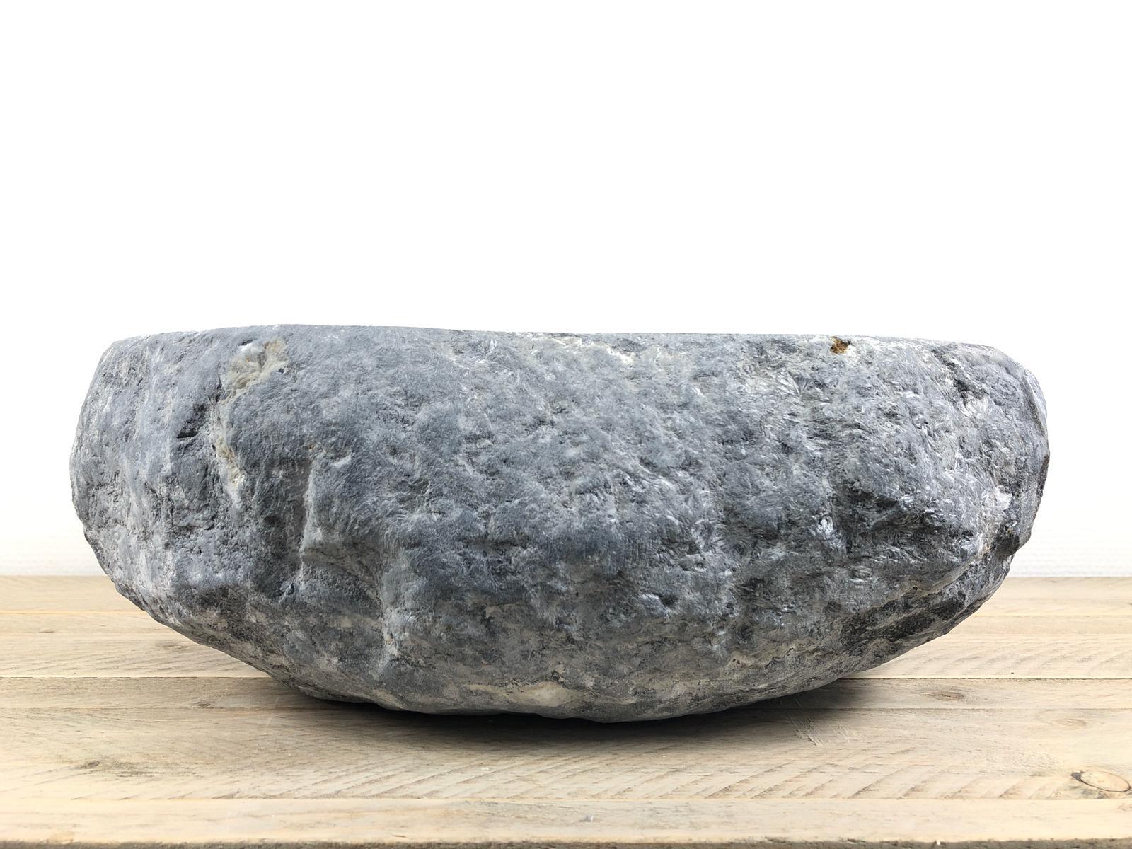 Natuurstenen waskom | W032 | 46,5 x 41,5 x 15 cm