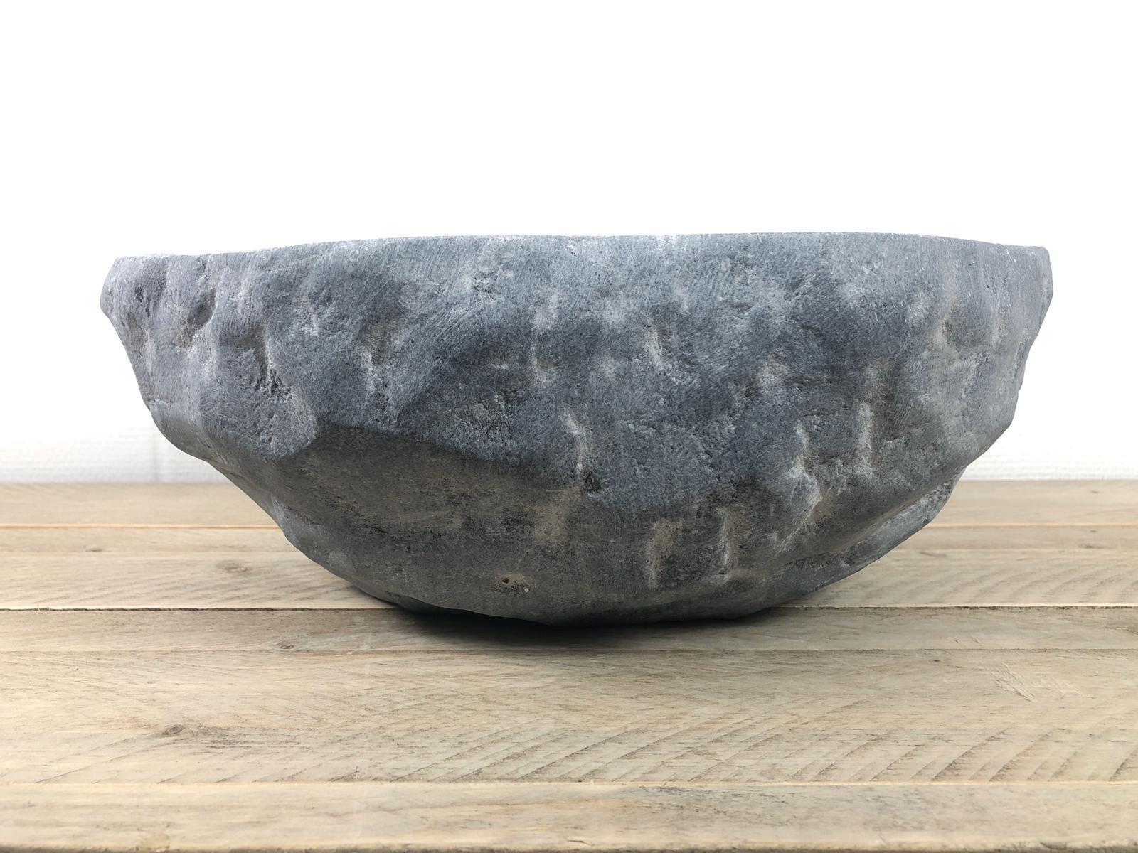 Natuursteen waskom | W058 | 39 x 35 x 14,5 cm