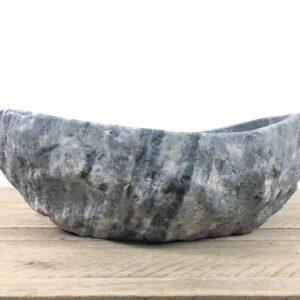 Natuursteen waskom | W086 | 40,5 x 35 x 12,5 cm