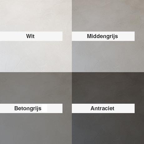 Betonlook kleuren
