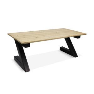 Eikenhouten tafel Corton met Z poten