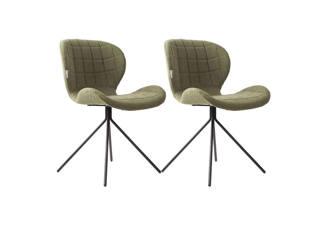Zuiver OMG stoel – groen