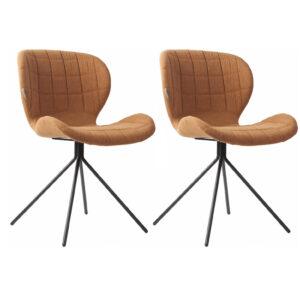 Zuiver OMG stoel – Cognac