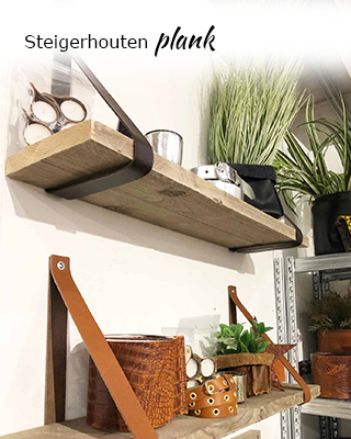 Steigerhouten plank