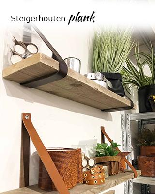 Steigerhouten plank