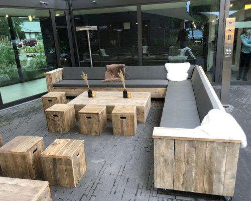 Loungebanken voor horeca terras