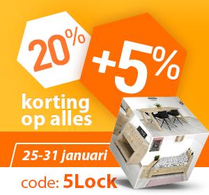 25% Korting Lockdown