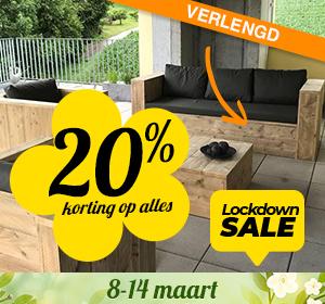 Lockdown Korting 20%