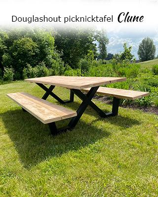Douglashout picknicktafel Clune