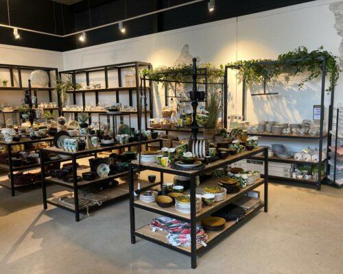 Industriele meubelen voor winkel