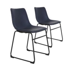Light-living-stoel-Jeddo-donkerblauw-duo