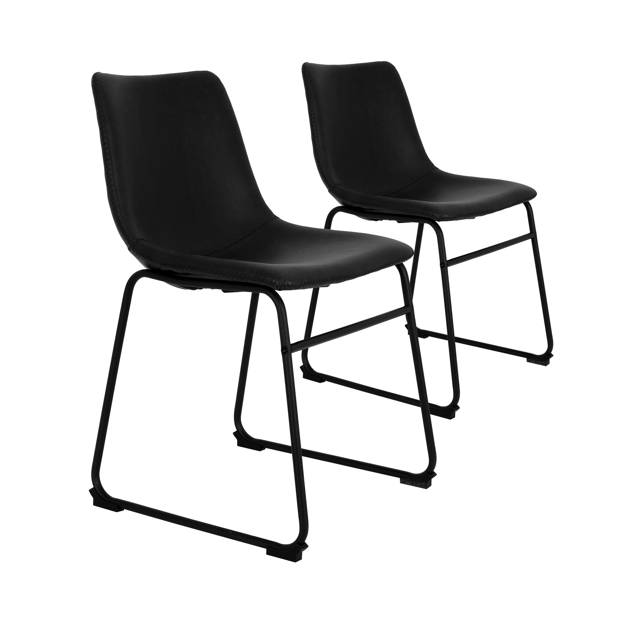 Light-living-stoel-Jeddo-zwart-duo